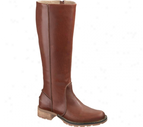 Sebago Saranac Tall (women's) - Dark Brown