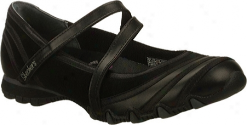 Skechers Bikers Addicted (women's) - Black