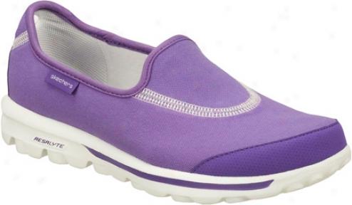 Skechers Skechers Gowalk (womdn's) - Purple