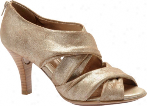 Sofft Geneva 2 (women's) - Champagne Contrast Suefe