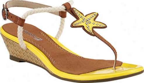 Sperry Top-sider Delray (women's) - Yellow (starfish)