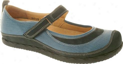 Spring Sgep Annette (aomen's) - Blue Leather/nubuck