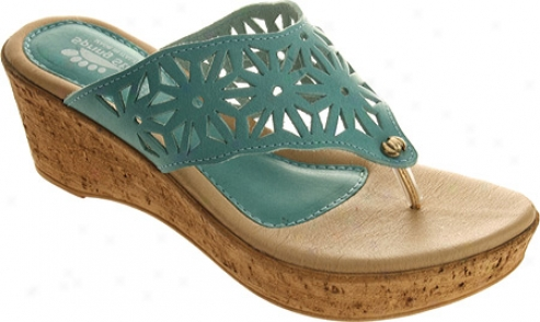 Spring Step Ariana (women's) - Turquoise Leather