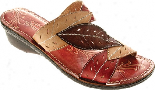 Spring Step Azalea (women's) - Red Leather