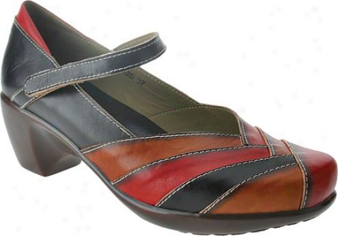Spring Step Boulevard (women's) - Black Multi Leather