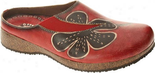 Spring Step Dalila (women's) - Red Leather