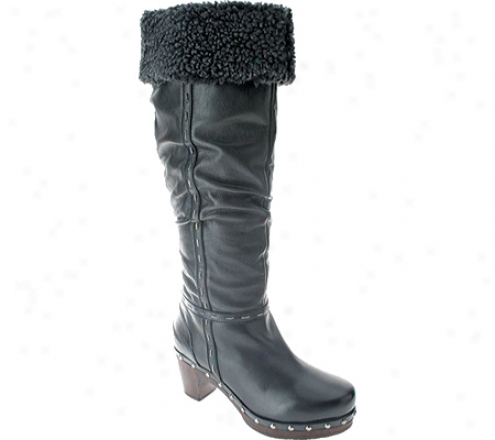 Spring Step Fairbanks (women's) - Black Leather