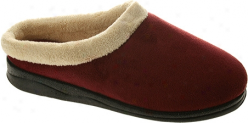 Spring Step Ivana (women's) - Bordeaux Micro Suede