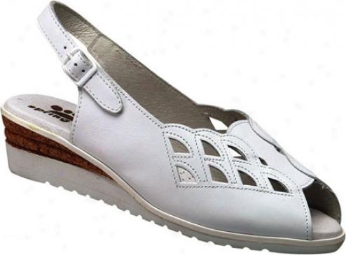 Spring Step Naomi (somen's) - White Leather
