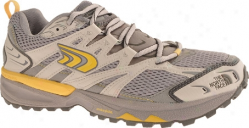 The North Face Single -track (woen's) - Alloy Grey/snapdragon Yellow