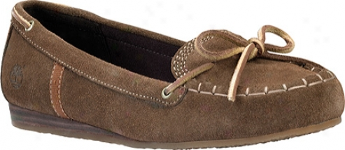 Timberland Earthkeepers Caska Moccasin (women's) - Brown Suede