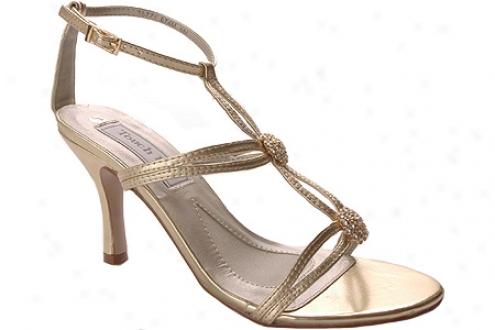 Touch Ups Alana (women's) - Gold Metallic