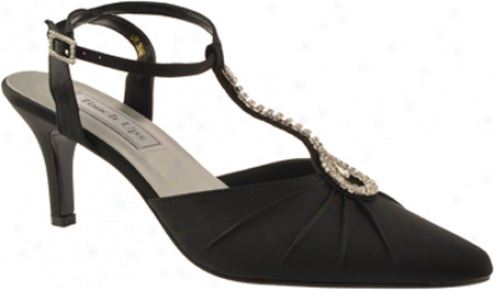 Touch Ups Johanna (women's) - Black Satin