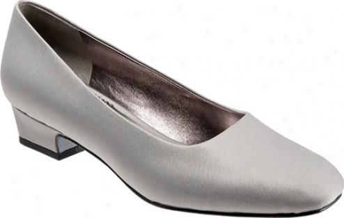 Trotters Doris Ii (women's) - Silver Imperio Silk