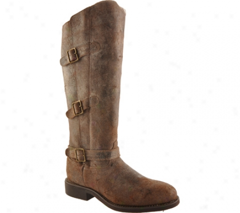 Twisted X Boots Wtht001 (women's) - Coffee Distressed/coffee