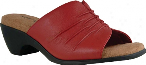 Walking Cradles Pleat (women's) - Red Leather