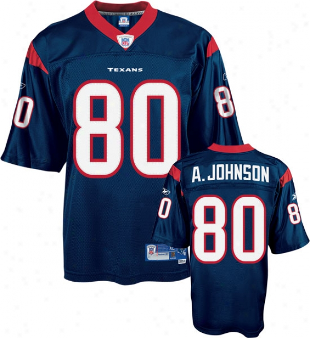 Andre Johnson Navy Reebok Nfl Premier Houston Texans Jersey