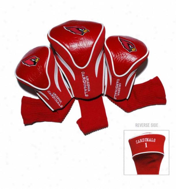 Arizona Cardinals Contour Fit Headcover Set