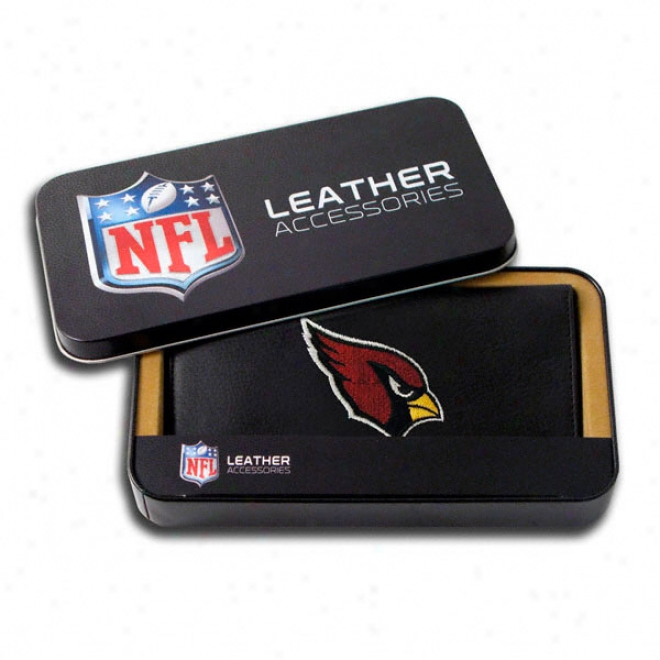 Arizona Cardinals Embroidered Checkbook