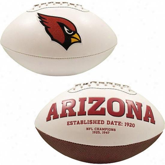 Arizona Cardinals Signature Series Football