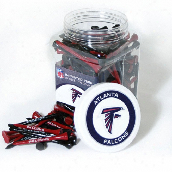 Atlanta Falcons 175 Pc. Golf Tee Ja5