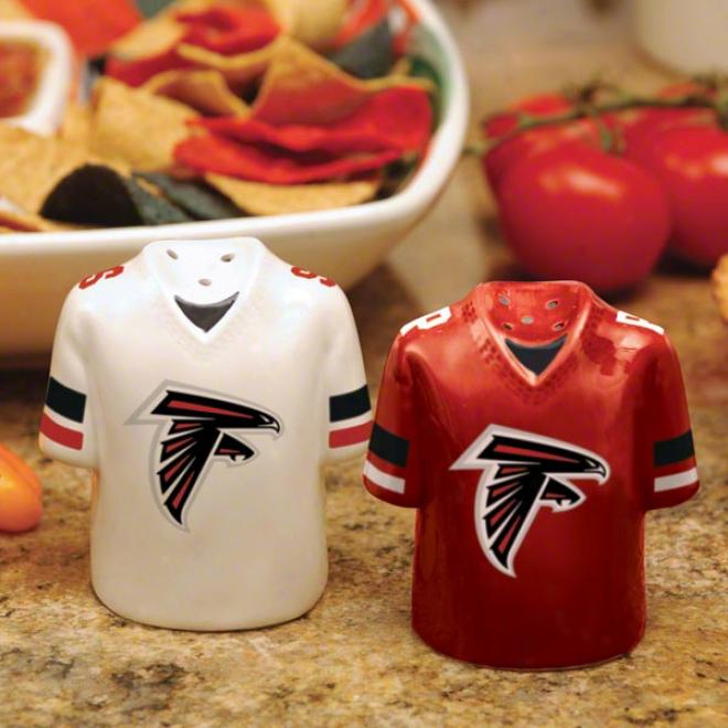 Atlantq Falcons Gameday Salt And Pepper Shakers