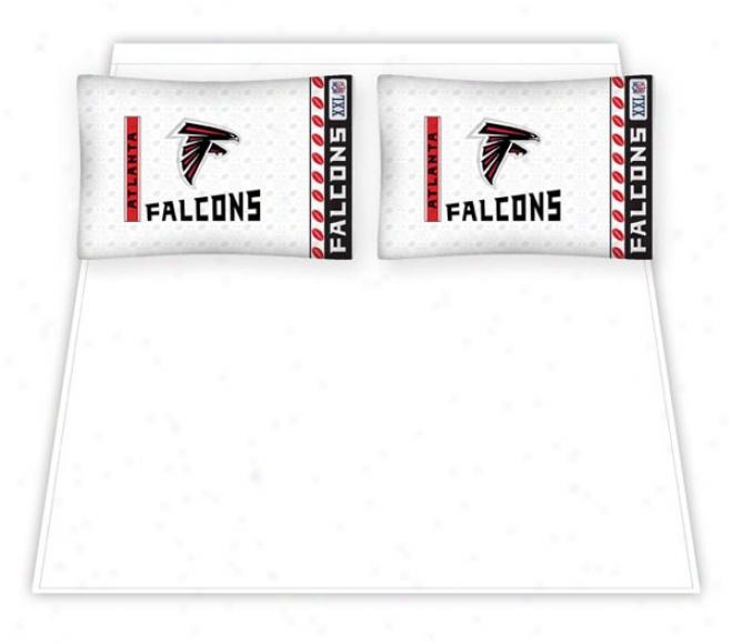 Atlanta Falcons Micro Fiber Full Sheet Set