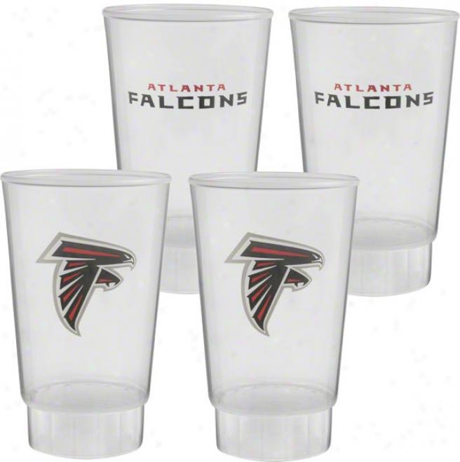 Atlanta Falcons Plastic Tumbler 4-pack