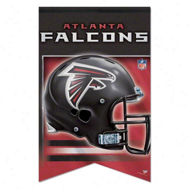 Atlanta Falcons Premium 17x26 Banner