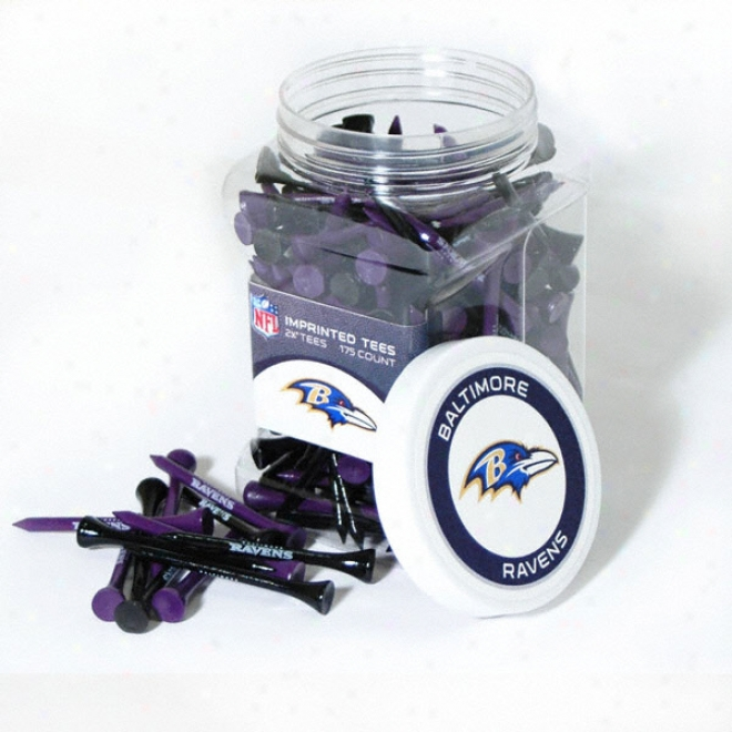 Baltimore Ravens 175 Pc. Golf Tee Jar