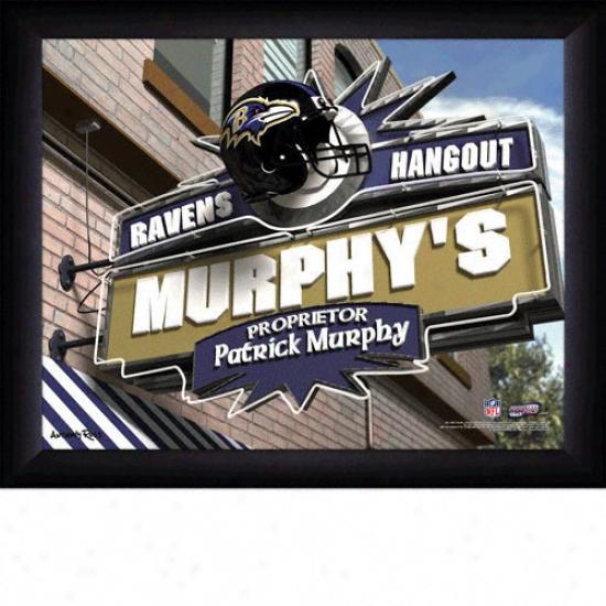 Baltimore Ravens Personalized Sports Pub Pint