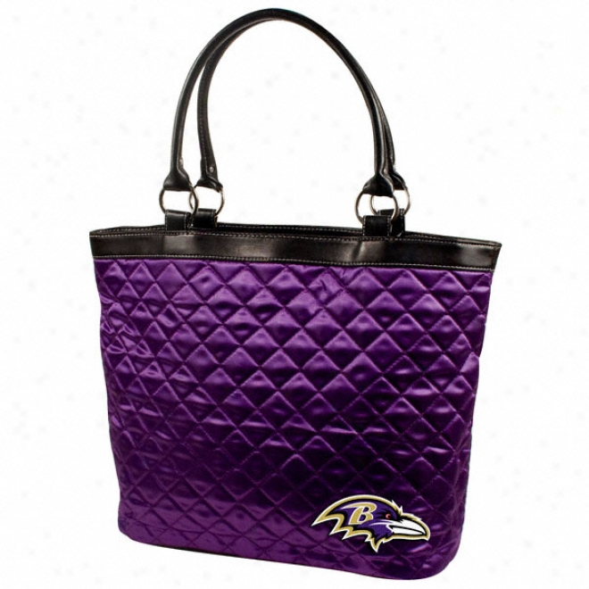 Baltimore Ravens Quilted Tote