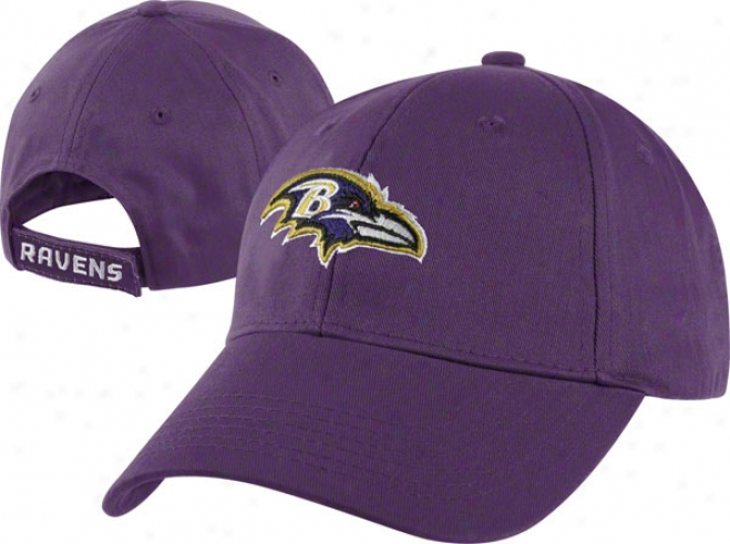 Baltimore Ravens Toddler Home Team Adjustable Hat