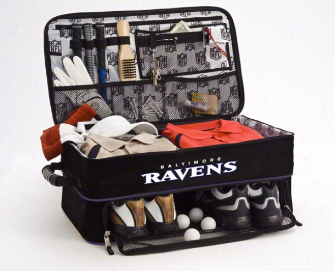 Baltimore Ravens Trunk Organizer: Golf Locker