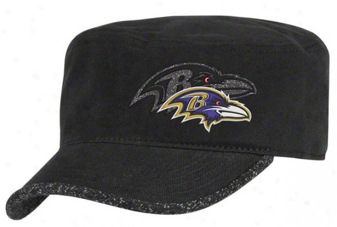 Baltimore Ravens Women's Hat: 2011 2nd Season Player Hook Adjustable Military Cap