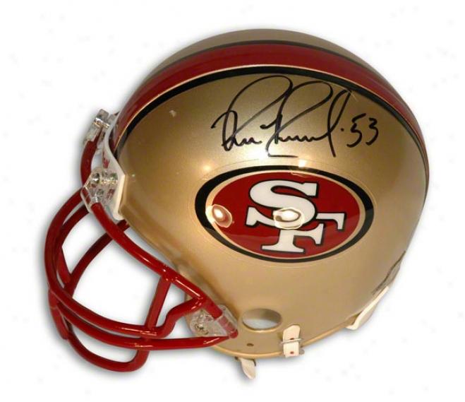 Bill Romanowski Autographed San Frrancisco 49ers Mini Helmet