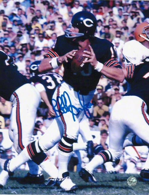 Bobby Douglass Chicago Bears Autographed 8x10 Photo Dropping Back