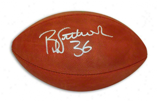 Brian Westbrook Autographed Nfl Football