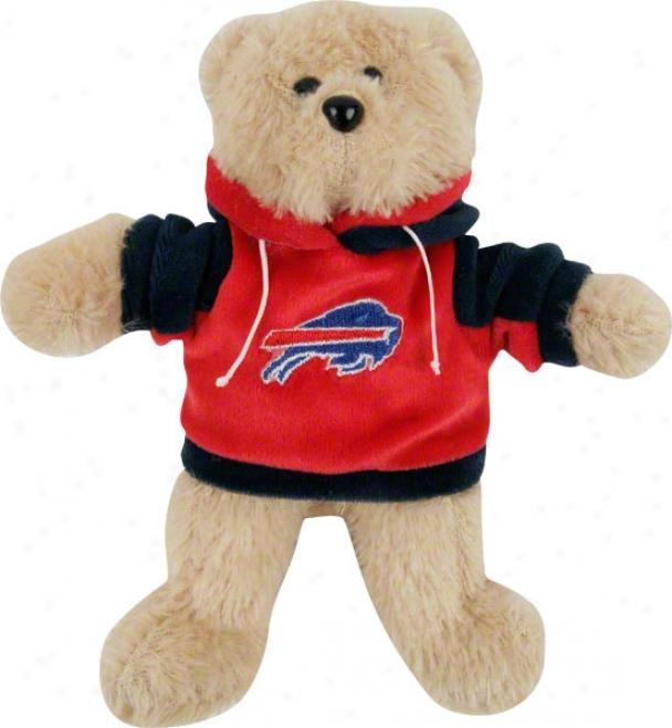 Buffalo Bills 8&quot Fuzzy Hoody Bear