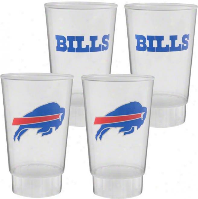 Buffalo Bills Plastic Acrobat 4-pack