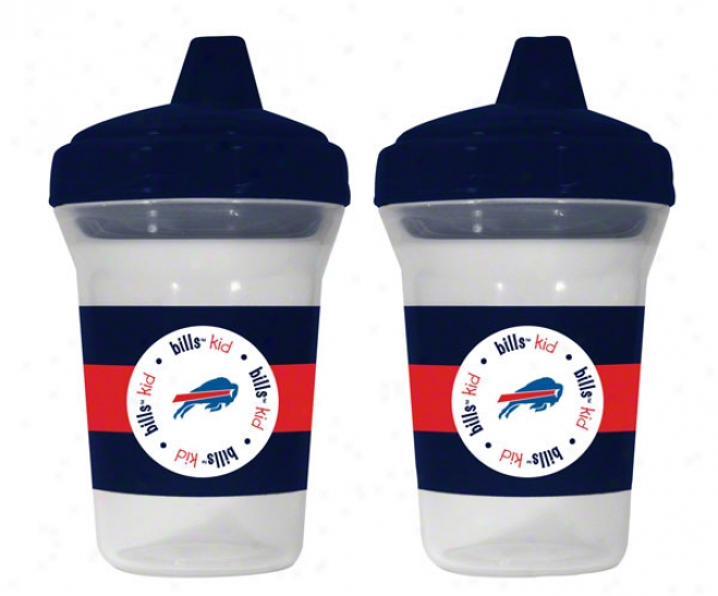 Buffalo Bills Sippy Cup 2-pack