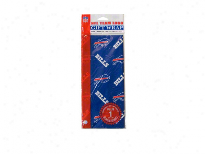 Buffalo Bills Wrapping Paper
