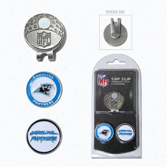 Carolina Panthers Bapl Marker Cap Clip