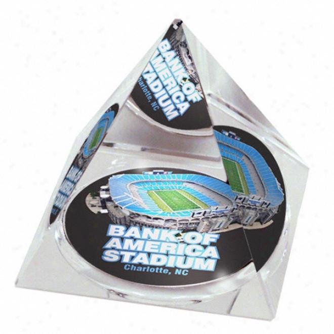 Carolina Panthers Bank Of America Stadium Crystal Pyramid