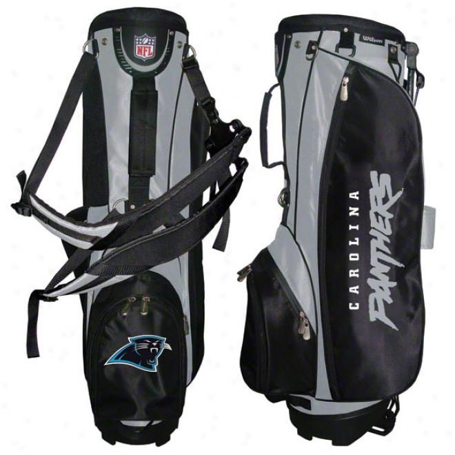Carolina Panthers Carry Golf Bag