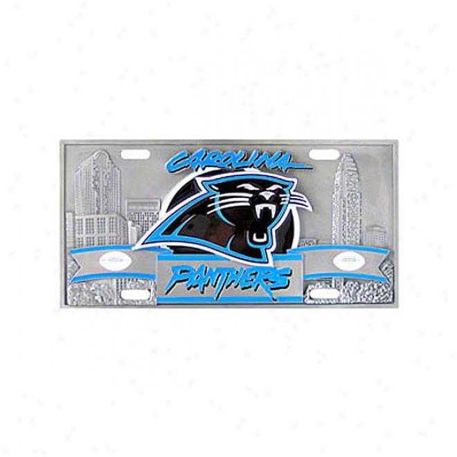 CarolinaP anthers Collectors License Plate