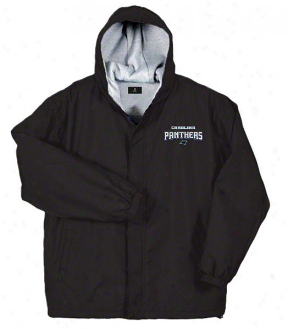 Carolina Panthers Jacket: Black Reebok Legacy Jacket