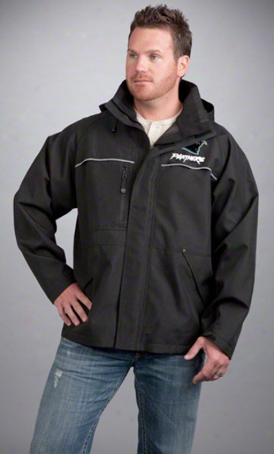 Carolina Panthers Jacket: Mourning Resbok Yukon Jacket