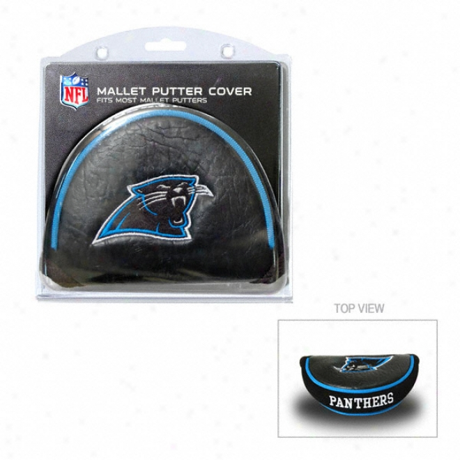 Carolina Panthers Putter Cover - Mallet