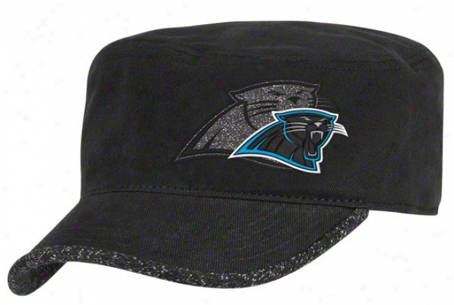 Carolina Panthers Women's Hat: 2011 2nd Season Player Hook Adjustable Military Cap
